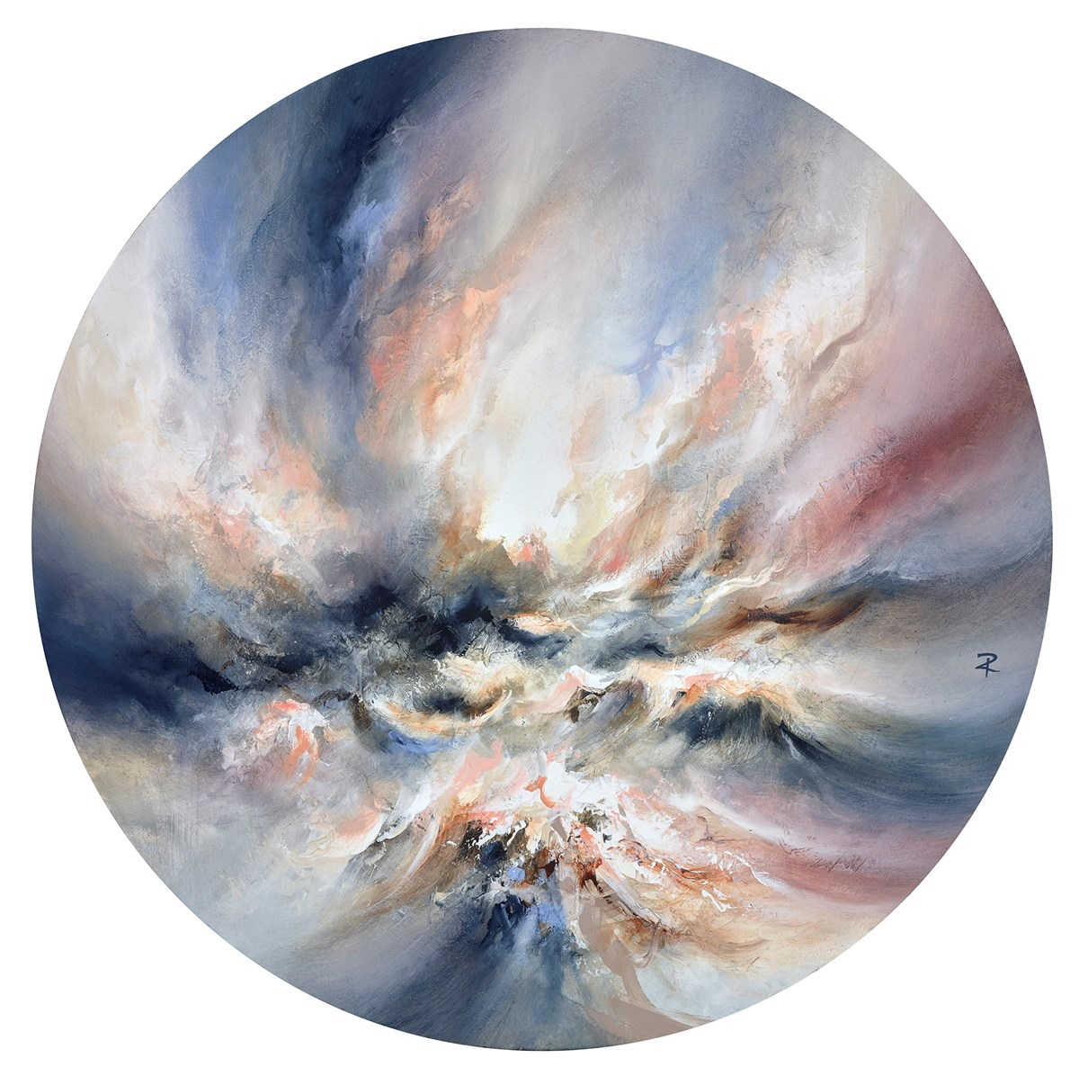 Positive Force by chris and steve rocks -  sized 32x32 inches. Available from Whitewall Galleries